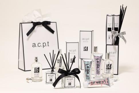 AIR CONCEPTがプロデュースする香りブランドa.c.p.t